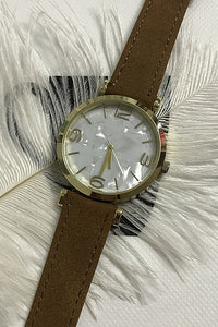 Shell Leather Watch