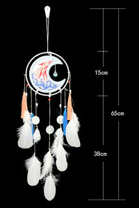 Moon Feather Dream Catcher