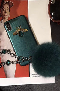 Rhinestone Bee Phone Case