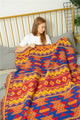 Ethnic Geometric Blanket