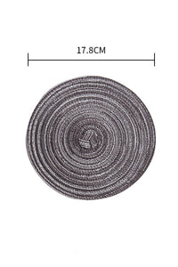 Round Woven Table Mat