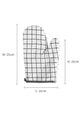 Linen Thermal Insulation Gloves