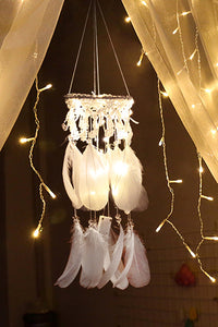 LED Feather Dreamcatcher