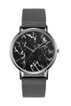 Marble Stainless Steel Watch