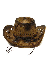 Hollow Beads Cowboy Hat