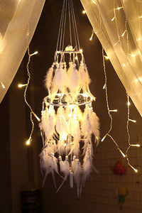 LED Layers Feather Dreamcatcher