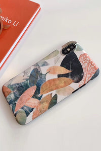 Vintage Leaf iPhone Case