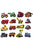 Cartoon Car Set Applique