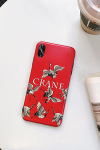 Red-crowned Phone Case