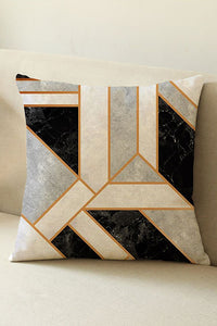 Geimetry Color Block Cushion Cover