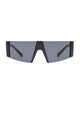 Half Frame Square Sunglasses