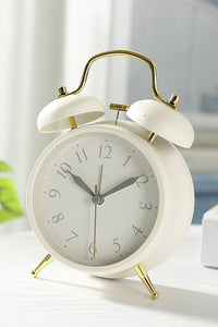 Portable Cute Mini Round Alarm Clock