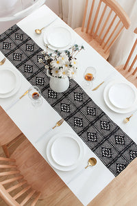 Lace Hollow Table Runner