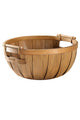 Wood Round Storage Basket