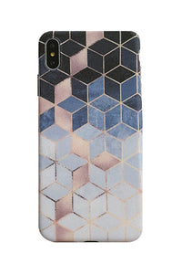 Geometry Color Block Phone Case