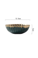 Gold Plating Flower Plate