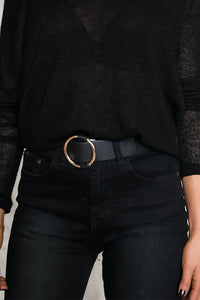 O Leather Belt
