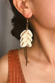 Shell Tassels Earrings