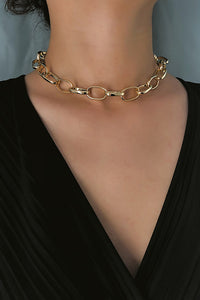 Ellipse Metal Choker