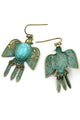 Bird Leaf Earring