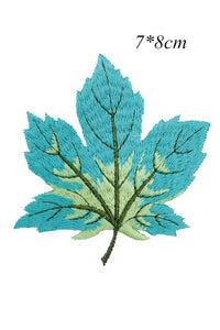 Embroidery Leaf Applique