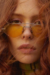 Personalized Frameless Polygon Sunglasses