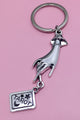 TAROT Hand Key Chain