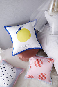 Fruits Print Cushion Cover