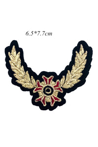 Crown Badge Applique