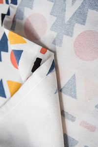 Geometry Print Tablr Cloth
