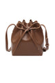 Bow Tie Bucket Crossbody Bag