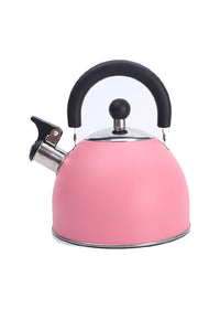 Pink Stainless Steel Whistling Kettle