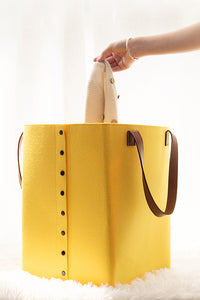 Button Handle Laundry Bag