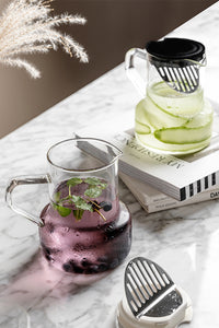 Filter Glasses Kettle With Spoon