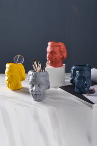 Einstein Resin Vases