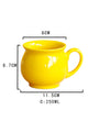 Bright Yellow Ceramic  Coffee Mug
