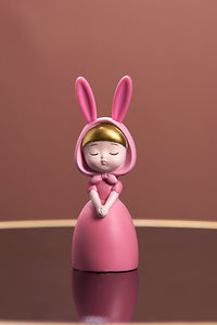 Sleeping Girl Resin Decorate