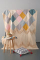 Geometry Tassels Blanket