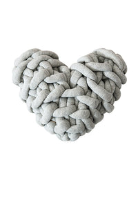 Knot Heart Cushion