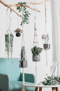 String Plant Wall Hanging Tapestry