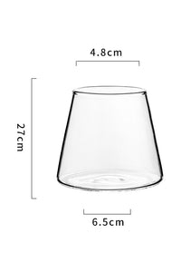 180ML Clear Mount Fuji Glass Cup