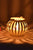 Pumpkin Candlestick Metal Desktop Decor