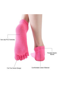 Grips Low-cut Full Toe Socks