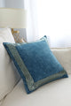 Print Velvet Cushion Cover