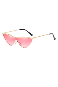 Fugitive Gold  Copper Sunglasses