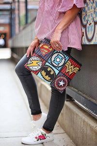 Superheroes Rivet Clutch