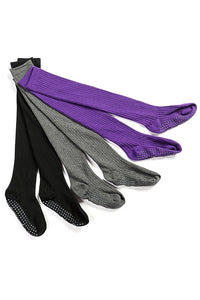 Solid Crunch knee High Full Toe Grip Socks