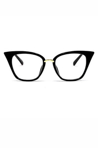 Cateye Eyeglasses Rim Glasses