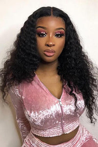 Long Thick Small Curly Wig