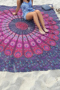 Bohemia Style Square Beach Towel